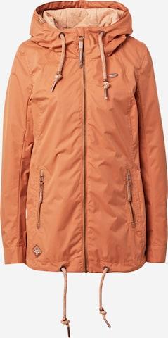 Ragwear Performance Jacket 'Zuzka' in Brown