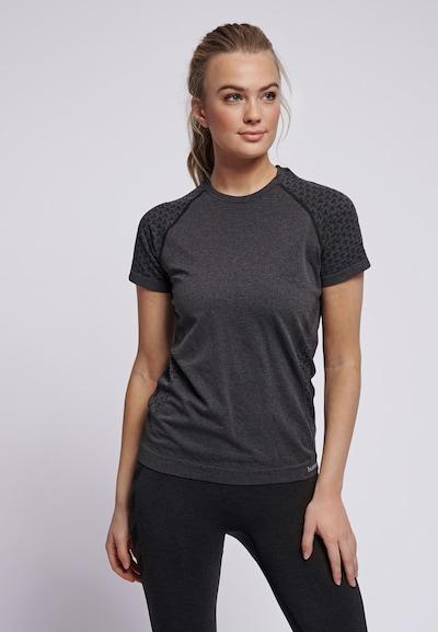 Hummel T-shirt S/S in schwarz: Frontalansicht