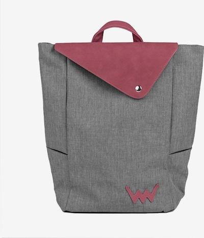 Vuch Rugzak in de kleur Grijs / Pink, Productweergave