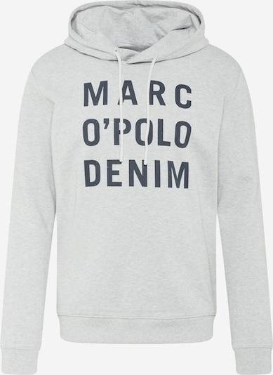 Marc O'Polo DENIM Sweatshirt in grau / schwarz, Produktansicht