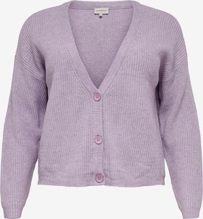 ONLY Carmakoma Gebreid vest 'Esly' in de kleur Lavendel, Productweergave