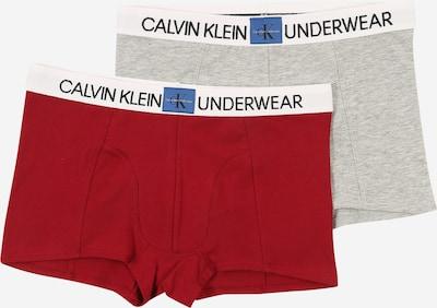 Calvin Klein Underwear Onderbroek in de kleur Grijs gemêleerd / Wijnrood, Productweergave