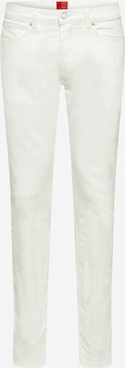 HUGO Farkut värissä valkoinen denim, Tuotenäkymä