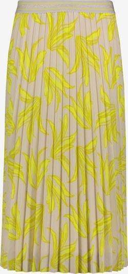 Betty Barclay Plisseerock mit Muster in beige / gelb, Produktansicht