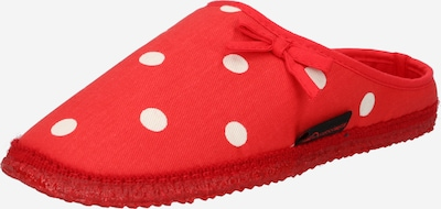 GIESSWEIN Slipper 'Plein' in Red / White, Item view