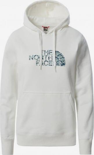 THE NORTH FACE Hoodie in blau / weiß, Produktansicht