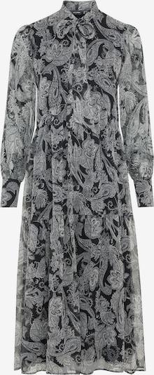 HALLHUBER Blusenkleid in grau / schwarz, Produktansicht