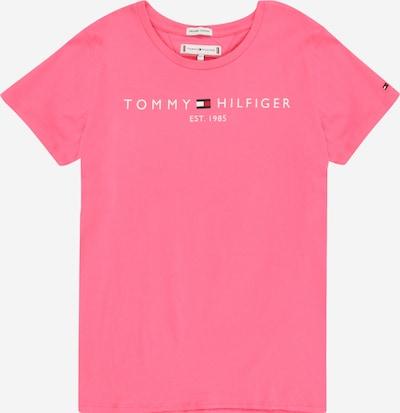 TOMMY HILFIGER Shirt in navy / pink / rot / weiß, Produktansicht