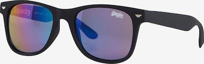 Superdry Zonnebril in de kleur Donkerlila / Zwart, Productweergave