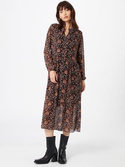 ZABAIONE Kleid 'Nina' in hummer / schwarz / weiß, Modelansicht