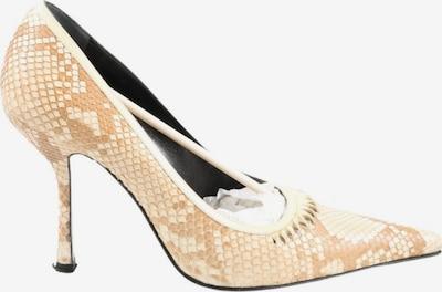 Gianni Versace Spitz-Pumps in 38,5 in nude / wollweiß, Produktansicht