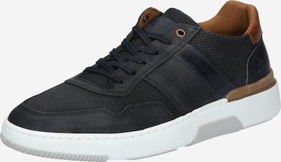 Sneaker low BULLBOXER pe coniac / gri metalic, Vizualizare produs