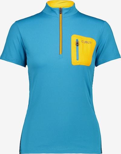 CMP Shirt in aqua / zitrone, Produktansicht