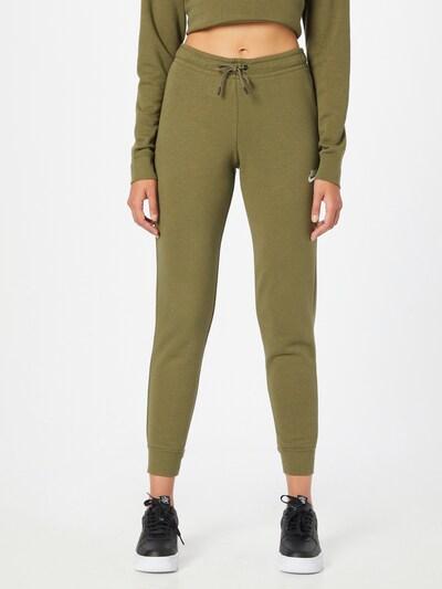 Kelnės iš Nike Sportswear, spalva – alyvuogių spalva, Modelio vaizdas