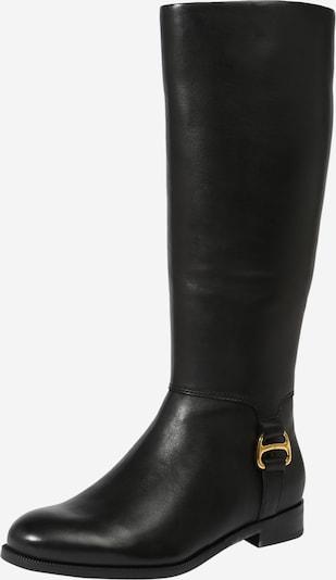Cizme 'BRYSTOL' Lauren Ralph Lauren pe auriu / negru, Vizualizare produs