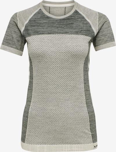 Hummel T-shirt S/S in beige, Produktansicht
