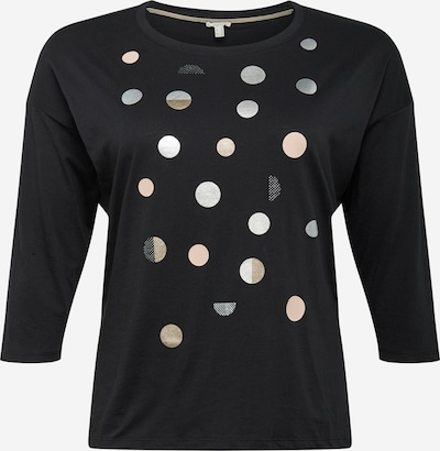 Esprit Curves Shirt in Gold / Black / Silver, Item view