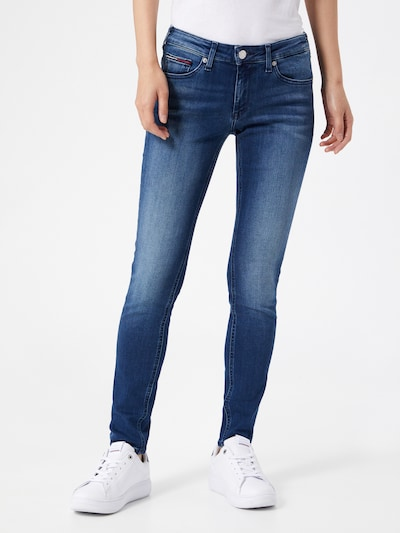 Tommy Jeans Jeans 'SOPHIE' in blue denim, Modelansicht