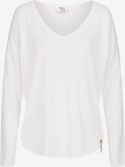 Cotton Candy Longsleeve 'NOELLE' in weiß, Produktansicht