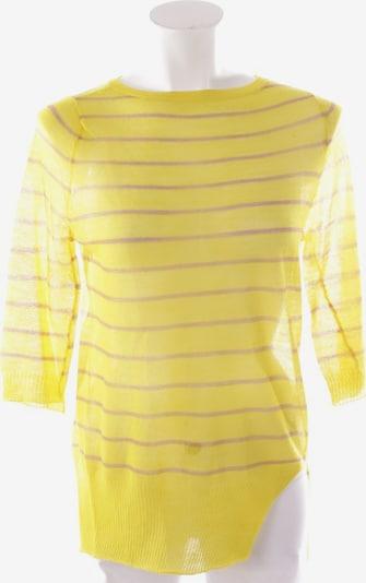 A.L.C Wollpullover in XS in braun / gelb, Produktansicht