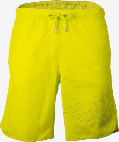 Emporio Armani Badeshorts in gelb, Produktansicht