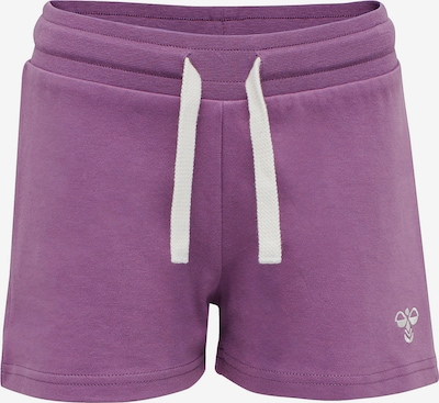 Hummel Shorts in lila, Produktansicht