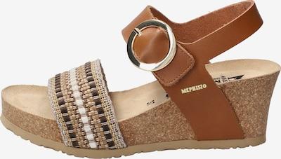 MEPHISTO Sandale in beige, Produktansicht