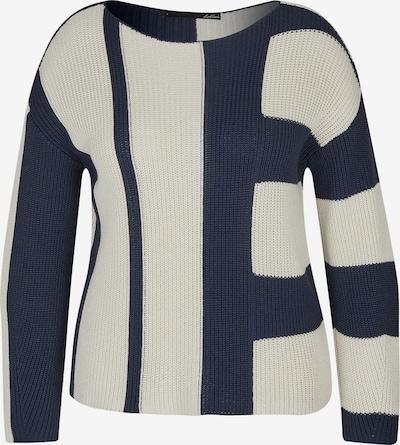Lecomte Sweater in Dark blue / Wool white, Item view