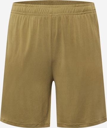 Urban Classics Curvy Püksid, värv roheline