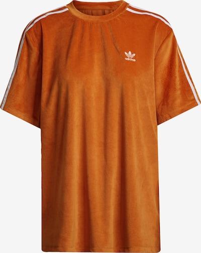 ADIDAS ORIGINALS Shirt in Orange / White, Item view