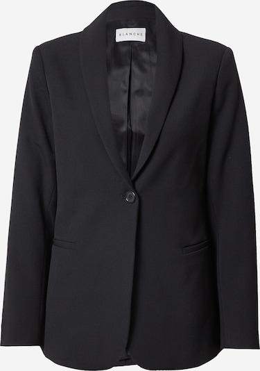 Sacou 'Sleek' Blanche pe negru, Vizualizare produs