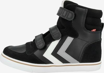 Hummel Sneakers in de kleur Antraciet / Zwart / Wit, Productweergave