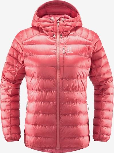 Haglöfs Outdoorjas 'Roc Down' in de kleur Pink, Productweergave
