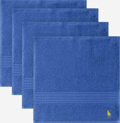 Ralph Lauren Home Waschlappen 'Polo PLAYER' in blau, Produktansicht