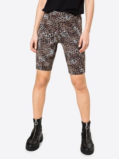 Pantaloni 'COOL' VILA pe maro / negru, Vizualizare model