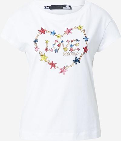 Love Moschino Shirt in de kleur Gemengde kleuren / Wit, Productweergave