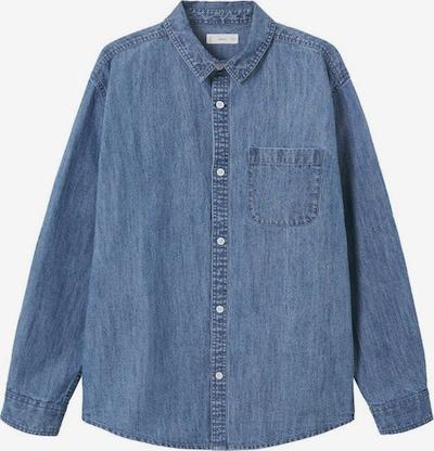 MANGO TEEN Button Up Shirt in Blue denim, Item view