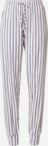 CALIDA Pajama Pants in White