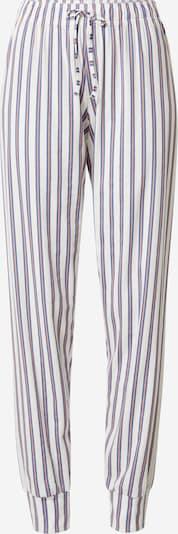 CALIDA Pyjamabroek in de kleur Duifblauw / Perzik / Wit, Productweergave