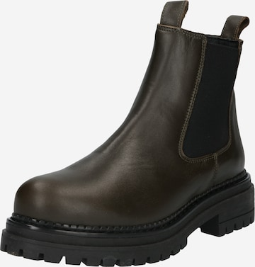 Ca'Shott Chelsea Boots in Grün