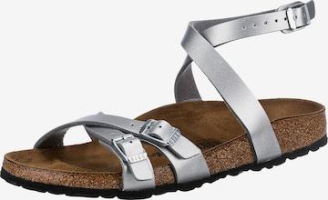BIRKENSTOCK Sandale 'Blanca' in Silber