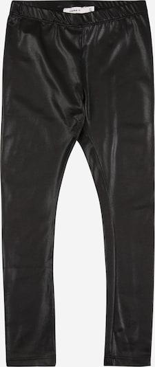 NAME IT Leggings 'BAN' in schwarz: Frontalansicht