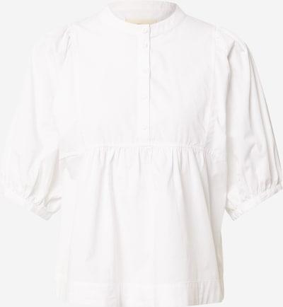 Esmé Studios Blouse 'Eva' in de kleur Wit, Productweergave