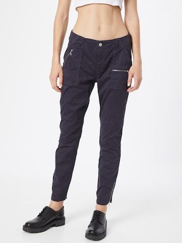 Pantaloni 'RICH' de la MAC pe gri