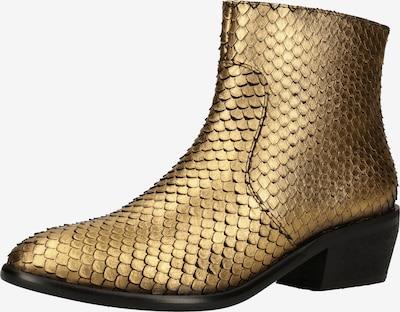 LAZAMANI Stiefelette in gold, Produktansicht
