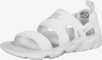 Nike Sportswear Sandály 'Owaysis' - bílá, Produkt