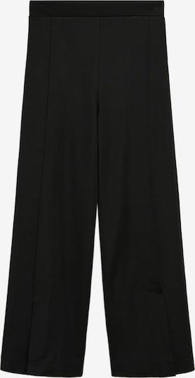 Pantaloni 'Sarguita' MANGO pe negru, Vizualizare produs