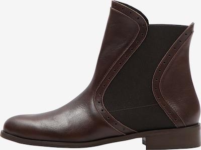usha BLACK LABEL Ankle Boots in kastanienbraun, Produktansicht