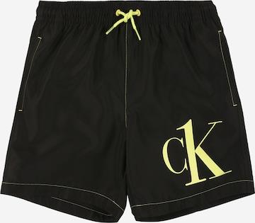 melns Calvin Klein Swimwear Peldšorti