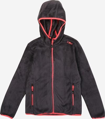 CMP Tehnička flis jakna u crvena / crna, Pregled proizvoda